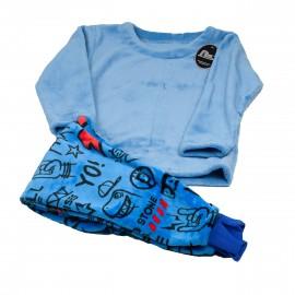 Pijama niño Lins coralina estampada