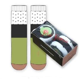 Calcetín regalo caja Sushi