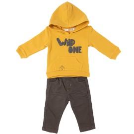 Conjunto 2 piezas Niño Baby-Bol Amarillo