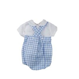 Pelele Baby Ferr cuadros con blusa