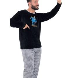 Pijama Hombre Kukuxumusu Tundosado Selfie Testis