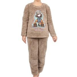Pijama Gorjuss niña calentito