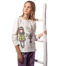 Pijama Gorjuss  Santoro Niña Algodón