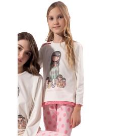 Pijama Gorjuss Niña Algodón Santoro