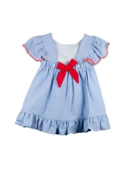 Vestido niña Baby Ferr espalda descubierta