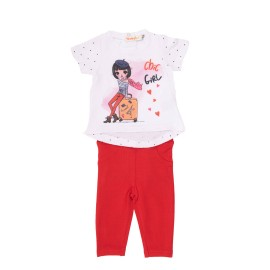 Conjunto legging y camiseta niña