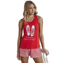 Pijama Corto Admas Mujer Verano Deportivas
