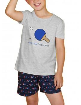 Pijama Niño Admas Verano Algodón Ping Pong