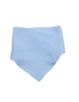 Babero tipo bandana de Calamaro fabricado en tejido de algodón.