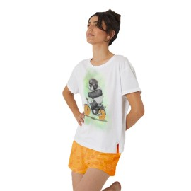 Pijama Mujer Santoro Panda Verano Algodón