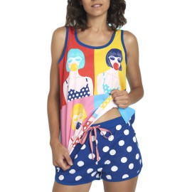 Pijama de Santoro para mujer de tirantes