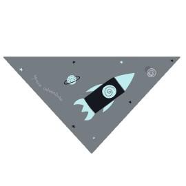 Bandana Bebé Pekebaby Cohetes Espacio