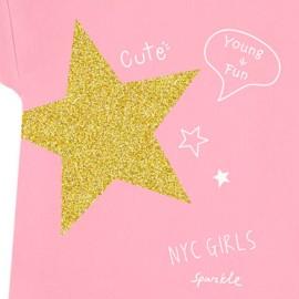 Conjunto Katuko para niña con camiseta y short de estrellas