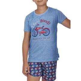 Pijama niño Admas algodón bicicletas