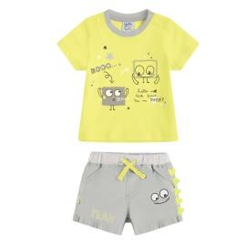 Conjunto pantalón y camiseta bebé Yatsi