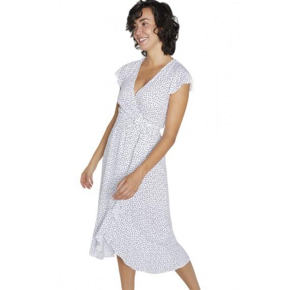 Vestido Ysabel Mora midi lunares