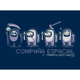 Camiseta Nikis Galicia Unisex Compaña Espacial