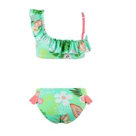Bikini tropical niña MrMiss asimétrico