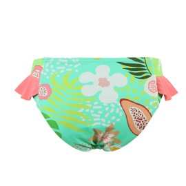 Braguita bikini MrMiss niñas tropical