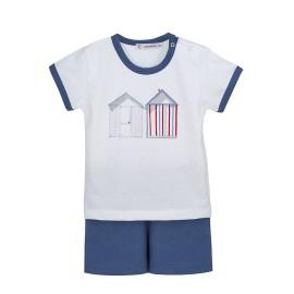 Pijama corto para bebé de Calamaro