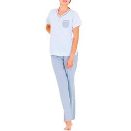 Pijama Mujer Clásico Marie Claire  Verano Pantalón Largo