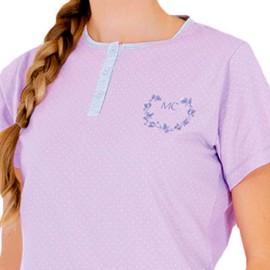 Pijama Marie Claire Mujer Clásico Verano Corto