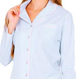 Pijama Mujer Marie Claire Verano Clásico Largo Abierto