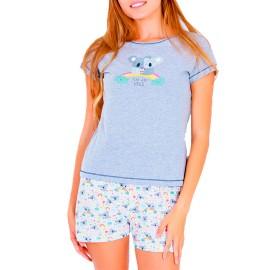 Pijama Mujer Marie Claire Koala Verano
