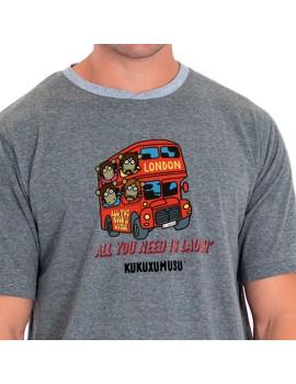 """Pijama Kukuxumusu Hombre """"Beatles Bus"""""""