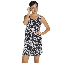 Vestido de Ysabel Mora tirantes black and white