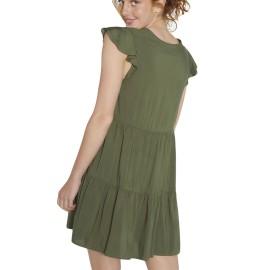 Vestido Ysabel Mora manga volante