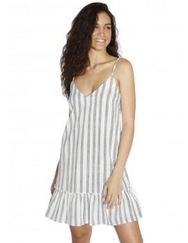 Vestido Ysabel Mora de tirantes lino