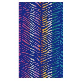 Toalla Playa Secaneta Animal Print Terciopelo 100X170