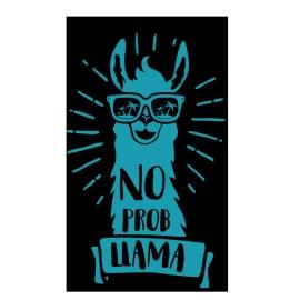 Toalla Playa Llama Secaneta 100X170 Terciopelo