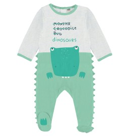 Pelele bebé algodón Yatsi dinosaurio.