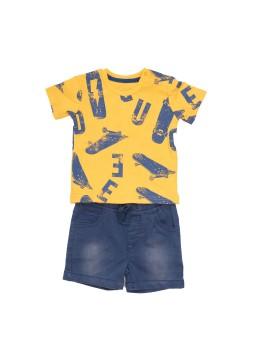 Camiseta y pantalón niño Baby-bol