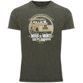 Camiseta Rei Zentolo Land Rover orgánica
