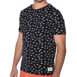 Camiseta Hombre Ysabel Mora Fantasía Algodón Ojos