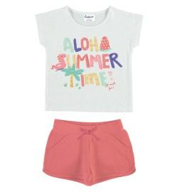 """Conjunto de algodón para niña de Yatsi """"Aloha Summer"""""""
