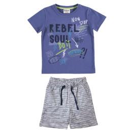 Conjunto para niño con camiseta y pantalón