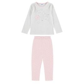Pijama Niña Yatsi Verano Largo Estrellas