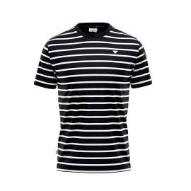 Camiseta Privata hombre rayas Navy