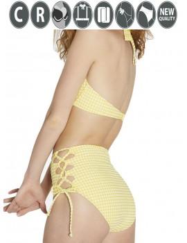 Bikini Ysabel Mora copa C braga maxi cuadro vichy