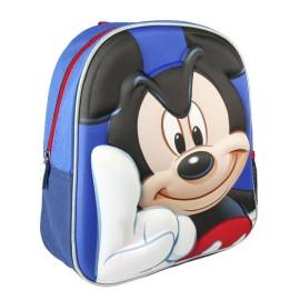 Mochila Mickey preescolar relieve