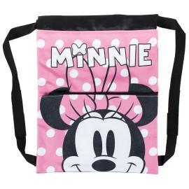 Saquito mochila de Minnie