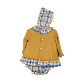 Vestido Baby-Ferr Bebé Mostaza 3 Piezas