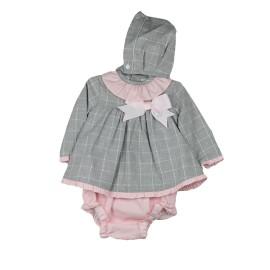 Vestido Bebé 3 Piezas Baby-Ferr Manga Larga Invierno
