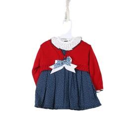 Conjunto Vestido Con Chaqueta Baby-Ferr Bebé Invierno