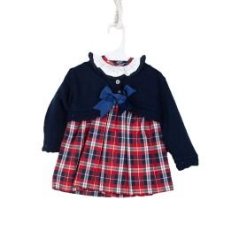 Vestido Niña Baby-Ferr 2 Piezas Navideño