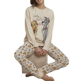 Pijama Disney Mujer La Dama y el Vagabundo